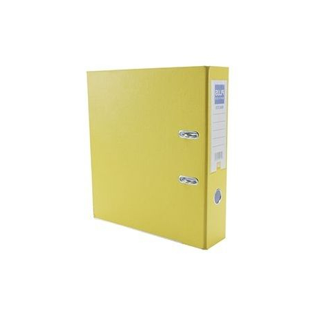 Archivador Carton Xtd6 Archivador Cartà N forrado Plus Office E3r Folio 70mm Amarillo