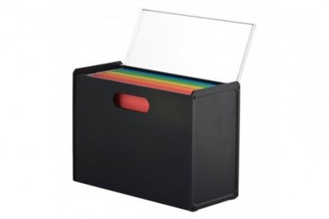 Archivador Plastico Ftd8 Archivador Rainbow Negro Plà Stico
