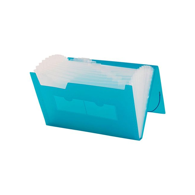 Archivador Plastico Q5df Archivador Tipo Fuelle A4 Plà Stico Con 13 Bolsillos Color Azul