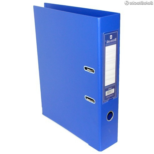 Archivador S1du Bismark Archivador De Palanca Azul A4
