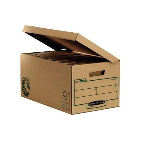 Archivadores De Carton 87dx Cajon Fellowes Carton Reciclado Para Almacenamiento De Archivadores