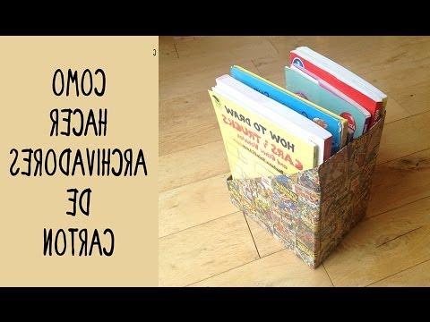Archivadores De Carton 8ydm Archivadores Personalizados De Cartà N Ideas De Reciclaje Y