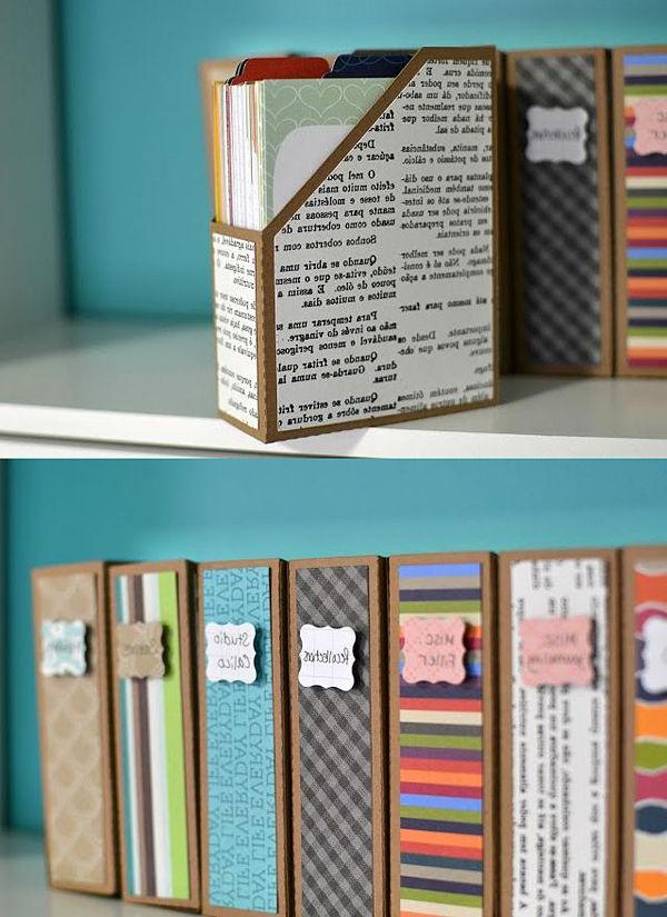 Archivadores De Carton Bqdd Diy Archivadores De Cartà N forrados De Papel My Ideal Bedroom