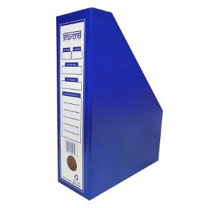 Archivadores De Carton D0dg Archivador Revistero Cartà N Azul Pancrhome Distri P