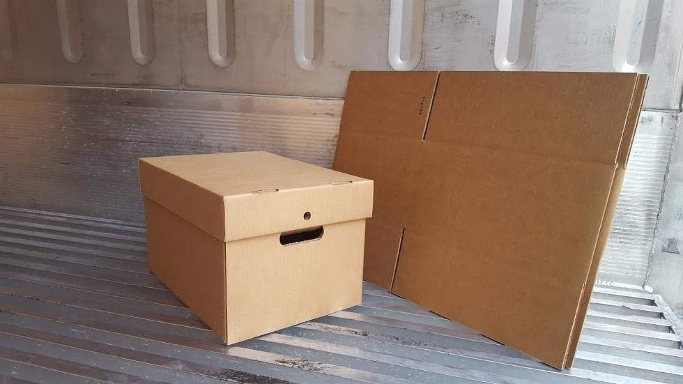 Archivadores De Carton E9dx Caja De Carton Corrugado Modelo Archivador S 8 00 En Mercado Libre