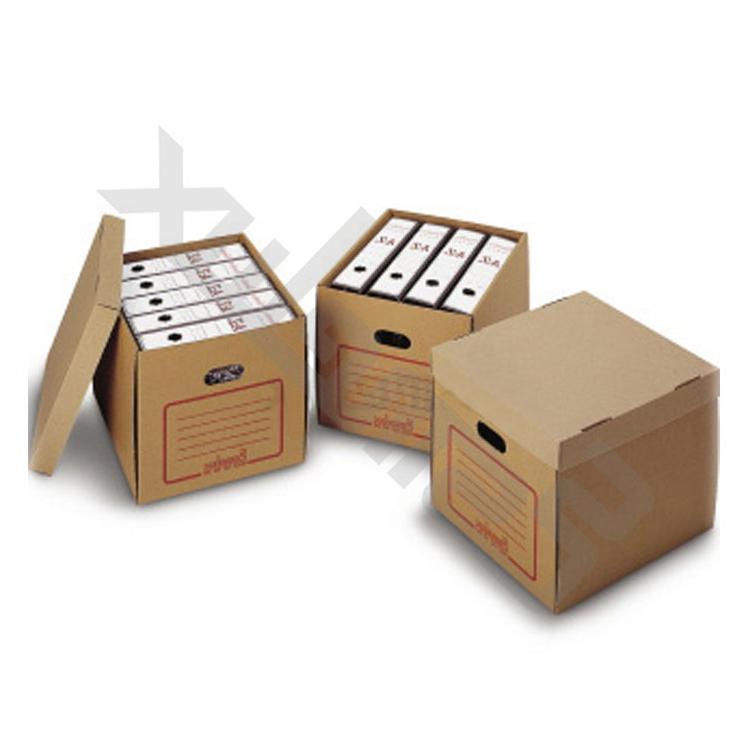 Archivadores De Carton Etdg 20 Cajas Automontables De Cartà N Resistente Para Archivadores A4