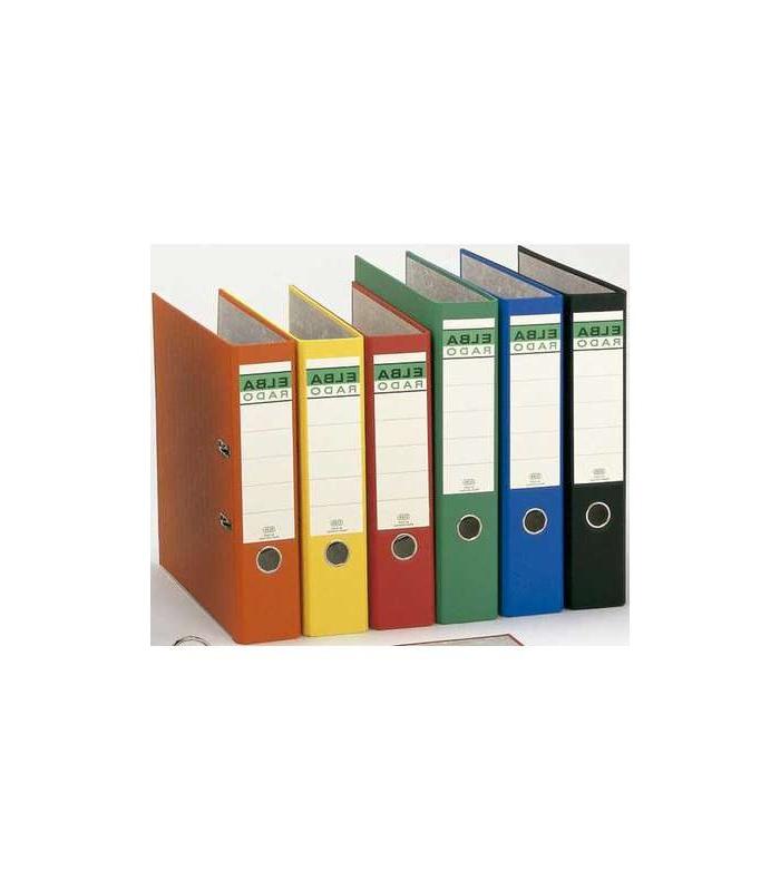 Archivadores De Carton Qwdq Archivador De Palanca Carton forrado Folio Negro Lomo De 80 Mm