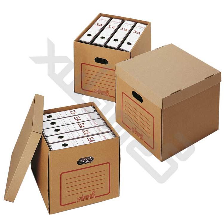 Archivadores De Carton Tldn Cajas De Cartà N Cerradas Para Archivadores Y Oficinas Esmelux