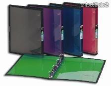 Archivadores De Plastico 3ldq Velitel Archivador Foldermate Folio 4 Anillas Con Refuerzo Barato