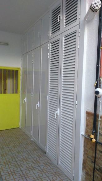 Armario Aluminio Irdz Fabricacià N Y Montaje De Armarios De Aluminio En Madrid