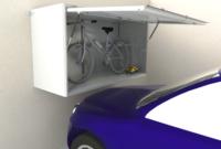 Armario Para Bicicletas Zwd9 solucià N Para Guardar La Bici De Manera Segura En El Garaje