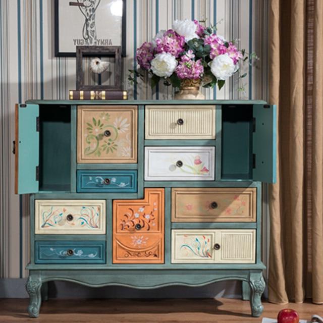 Armarios Antiguos Etdg Campo Vintage Gabinete Muebles Antiguos Retro Cajà N En Armarios De