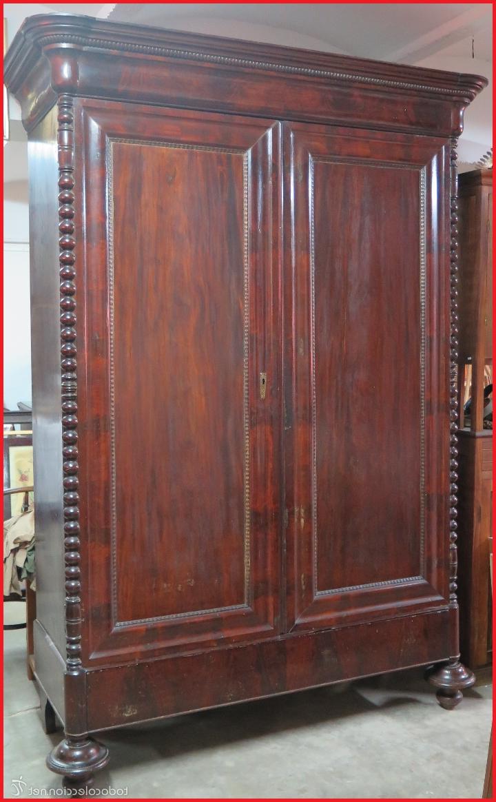 Armarios Antiguos X8d1 Armarios Antiguos Antiguo E Importante Armario De Caoba Maciza