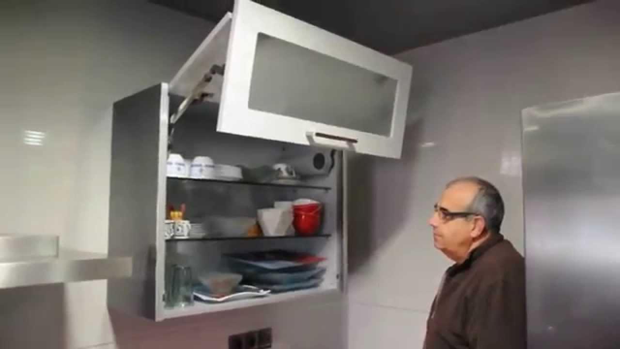 Armarios De Cocina Altos 9fdy Mueble Cocina Alto Con Puertas Elevables Youtube