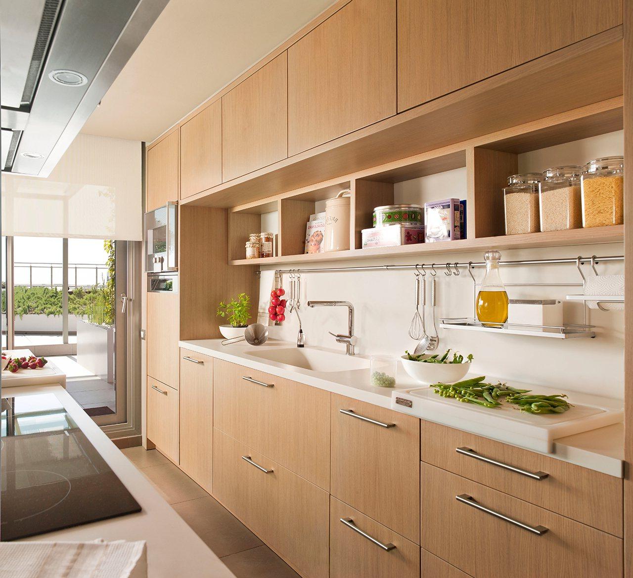 Armarios De Cocina Altos Tldn Ideas Para Aprovechar El Espacio En Las Cocinas Pequeà as