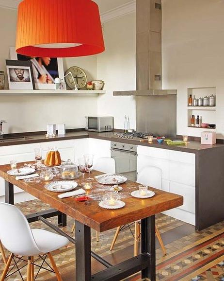Armarios De Cocina Altos X8d1 Una Cocina Sin Armarios Altos Ideas Para Amueblar La Cocina