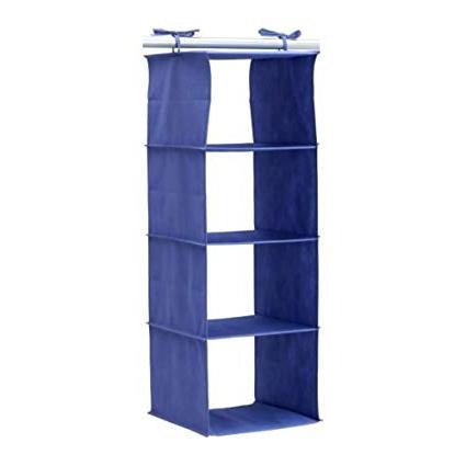 Armarios De Ropa Ikea Bqdd Ikea Jall organizador Azul Para Colgar En Armario Apto Para Zapatos