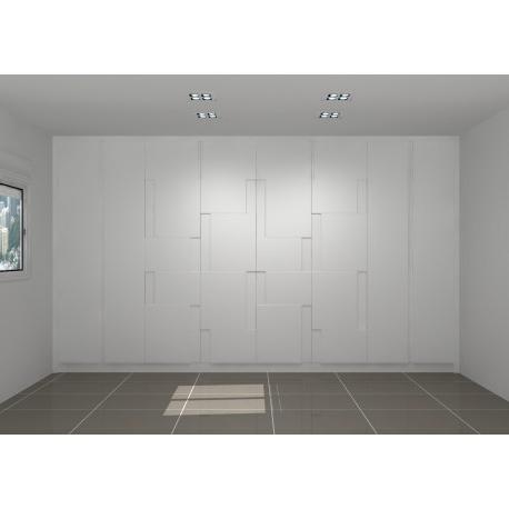Armarios Lacados En Blanco X8d1 Armario Lacado En Blanco Modelo Ebro Sercosan Interiorismo