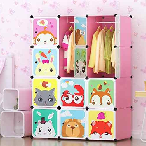 Armarios Para Bebes E6d5 Armario Tespo 12 Cubos Para Guardar Ropa Portà Til Para Nià Os