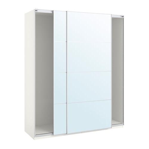 Armarios Puertas Correderas Ikea 8ydm Pax Armario Con Puertas Correderas Blanco Auli Espejo 200 X 44 X 236