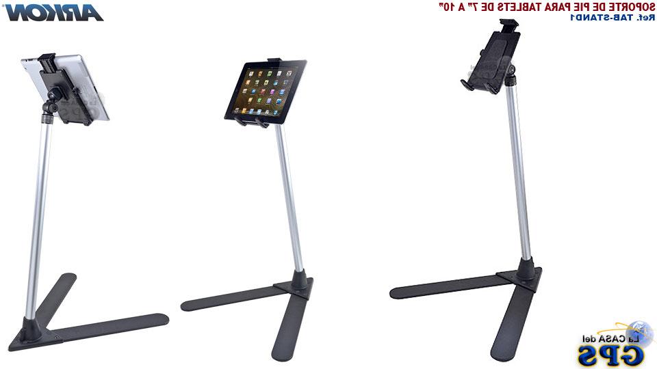 Atril Para Tablet Txdf soporte Arkon De Pie Para Tablets De 7 A 10 Lacasadelgps