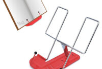 Atril Portatil Kvdd atril Metalico Plegable Portatil Selfpaper