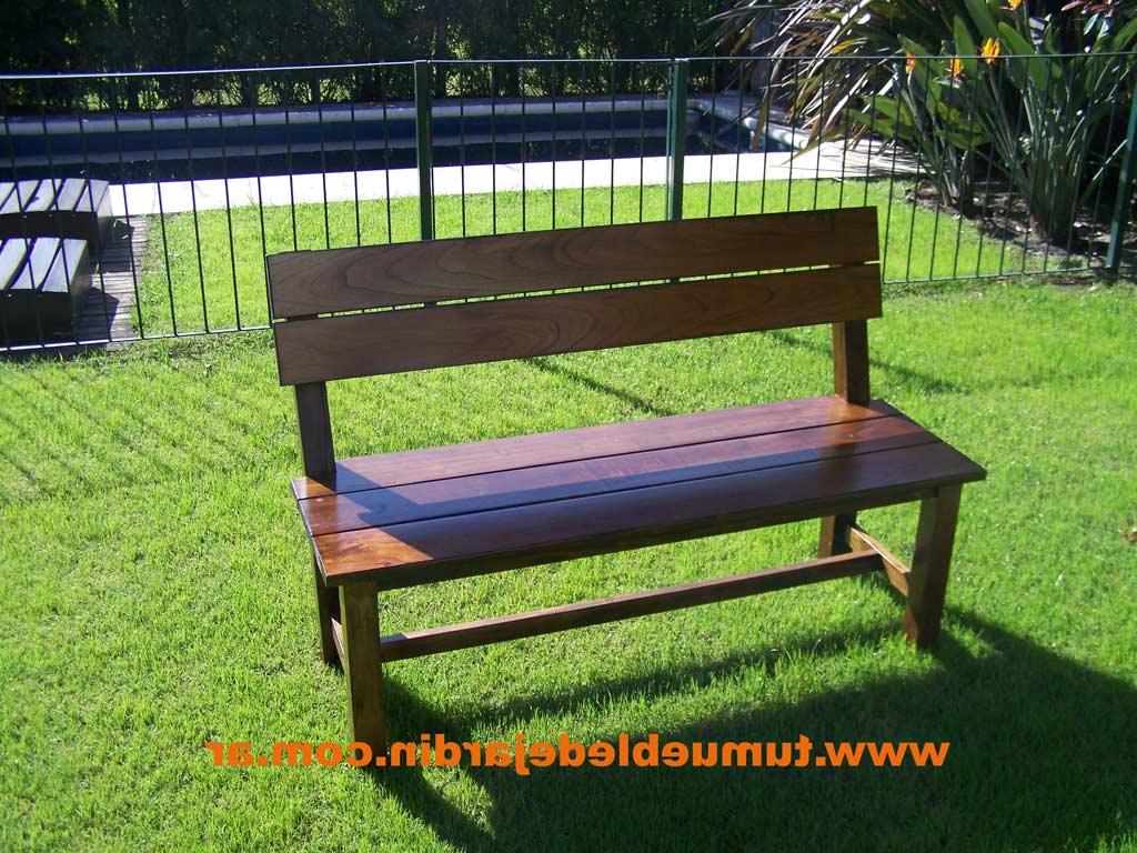 Bancas De Jardin De Madera H9d9 Mis Muebles Rusticos Bancos De Madera Para Quinchos