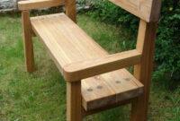 Bancas De Madera Para Jardin U3dh Very Simple for Front Porch or Garden Cool Stuff Pinterest