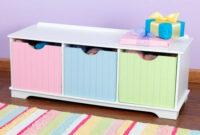 Banco Con Cajones Tqd3 Banco Con Cajones En Color Pastel Kidkraft 194 18 Ecotierra
