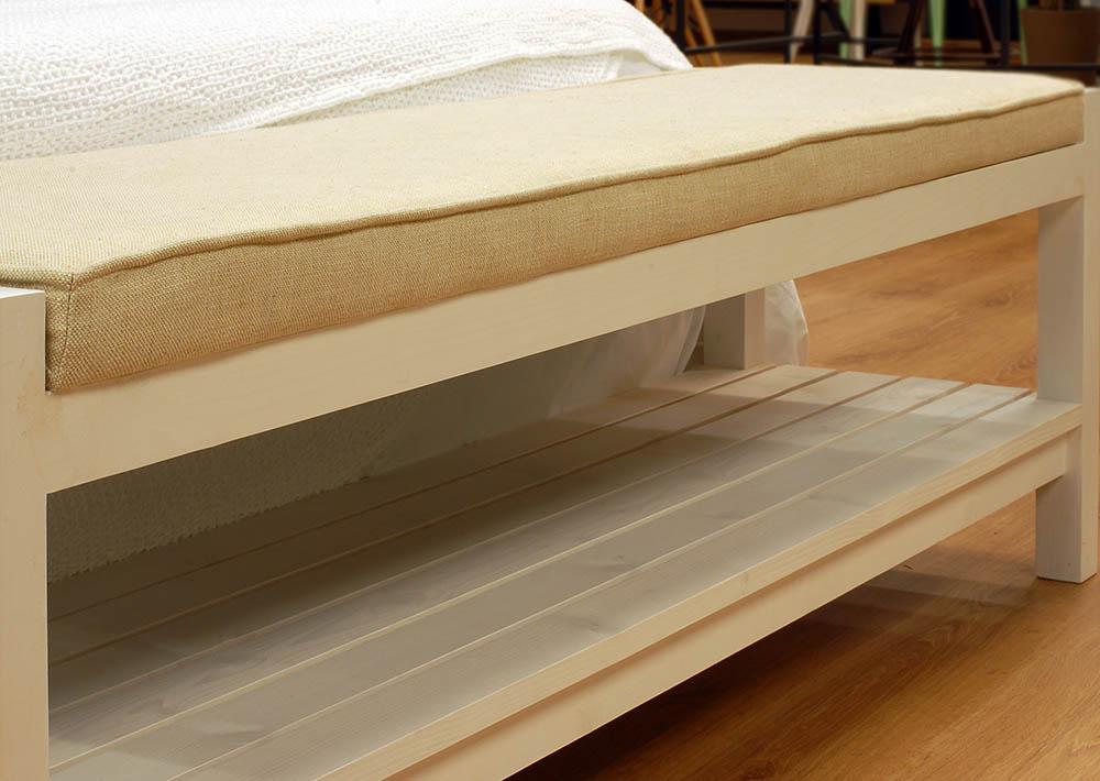 Banco Dormitorio Jxdu Banco De Lino Para Dormitorio Cube Deco Tienda De Muebles De