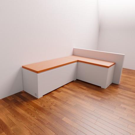 Banco Rinconera 4pde Banco Rinconera De Cocina Endor Con asiento Tapizado