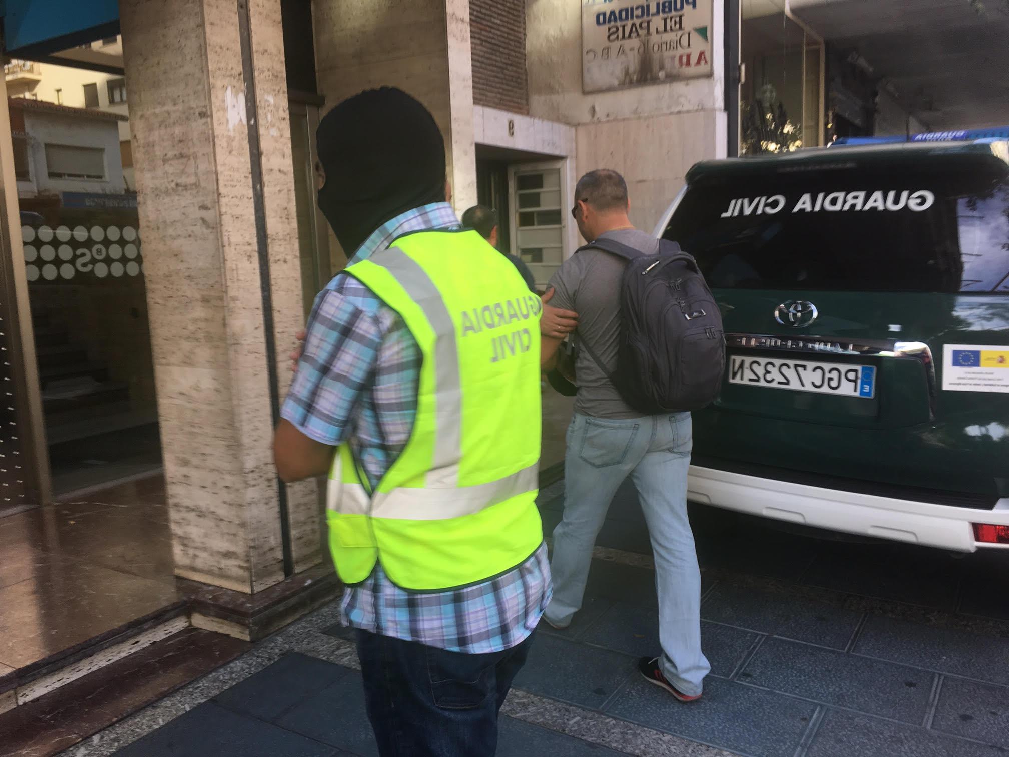 Banco Sabadell Marbella E6d5 Prisià N Para Cuatro Detenidos En La Operacià N Contra El