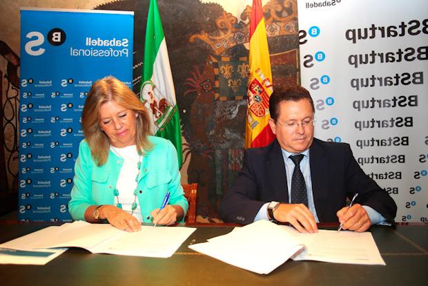 Banco Sabadell Marbella Nkde El Ayuntamiento Firma Un Convenio De Colaboracià N Con El