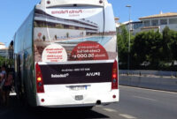 Banco Sabadell Marbella Txdf Advertising Bus Campaign Banco Sabadell Advertising and