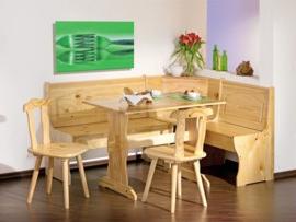 Bancos De Madera Para Cocina Mndw Conjunto De Mesa Sillas Y Banco Para Sentarse En La Cocina