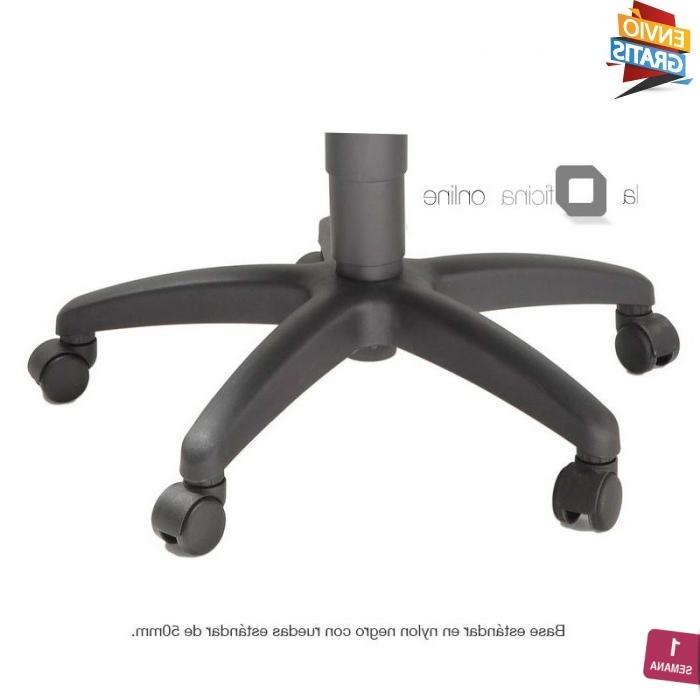 Base Silla Oficina U3dh Base En Nylon Negro Para Sillas Y Sillones La Oficina Online