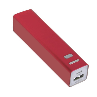Bateria Portatil Movil Ipdd Moviles Mrdisc Bateria Portatil 2600 Mah Color Rojo Pcexpansion