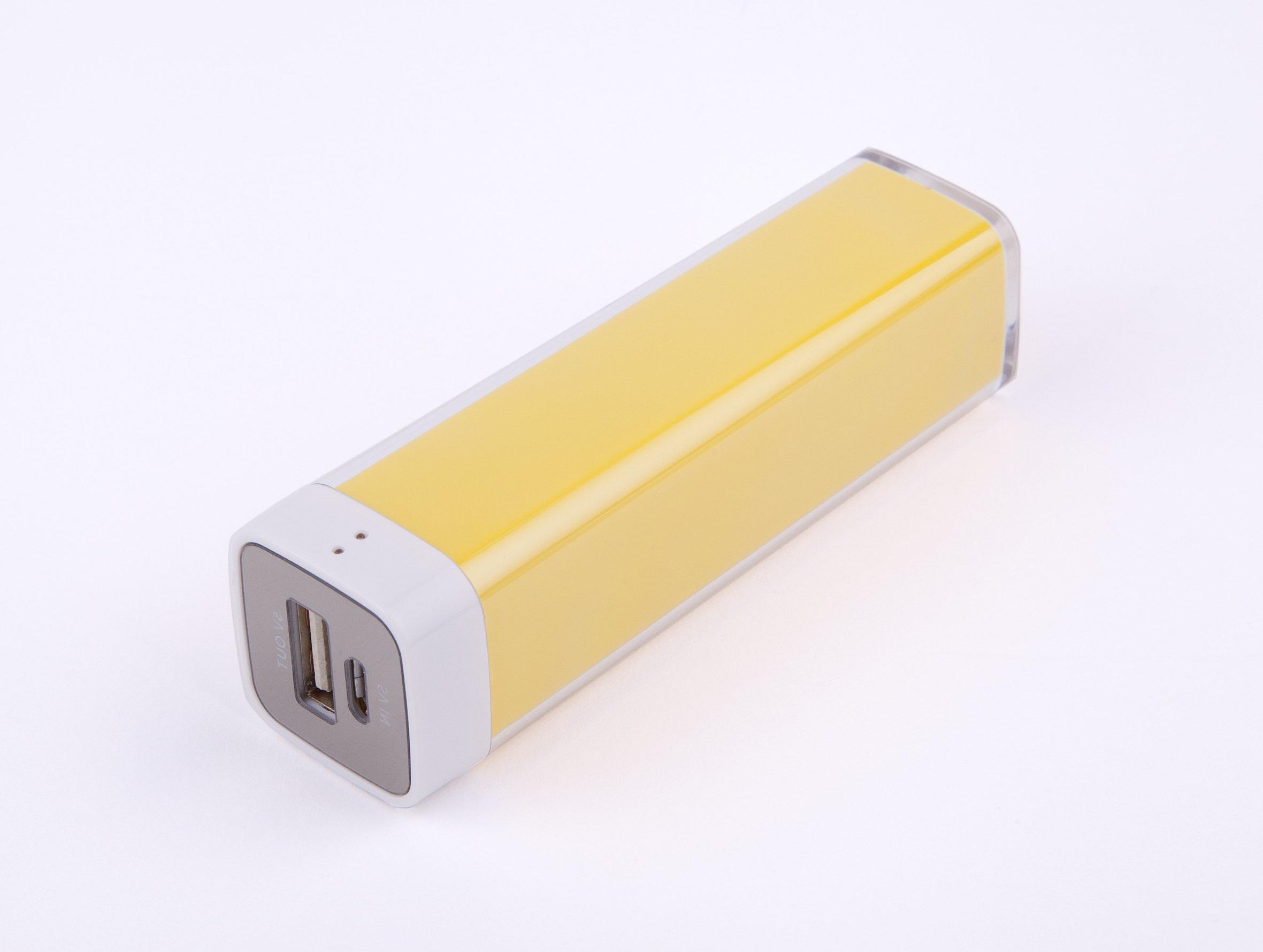 Bateria Portatil Movil X8d1 Bateria Externa Portatil Para Movil Mpmobile Mplipstk Am Amarilla