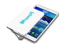 Bateria Portatil Movil X8d1 PowermiBaterà A Externa Mà Vil Ultra Delgada Y Ligera De 4000 Mah