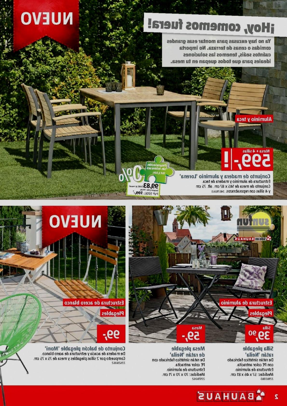 Bauhaus Mesas Jardin Irdz Sillas Plegables Bauhaus Especial Inicio Muebles De Jardin Bauhaus