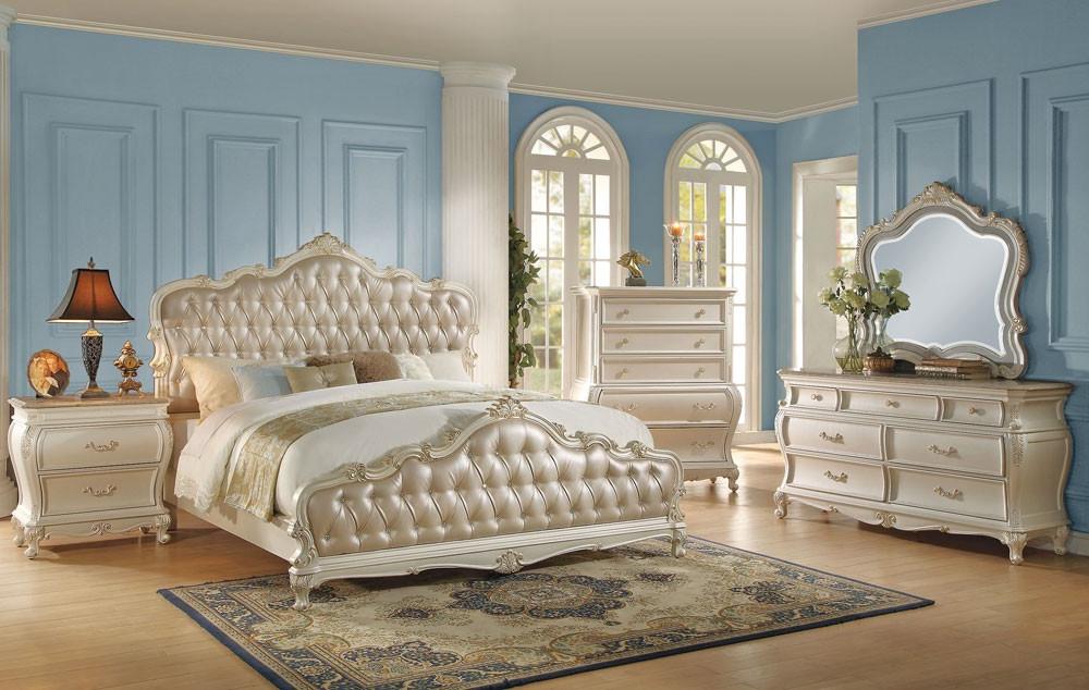 Bedroom Furniture E6d5 Bencivenni Pearl White Classic Bedroom Furniture