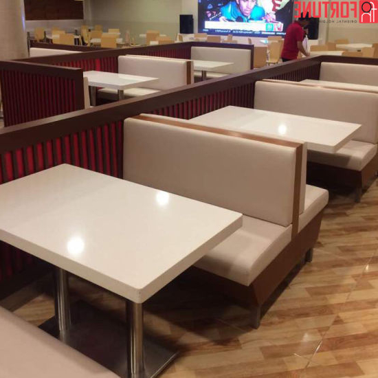 Bench Restaurant Ftd8 China Economical Double Sided Back to Back Bothway Seating sofa