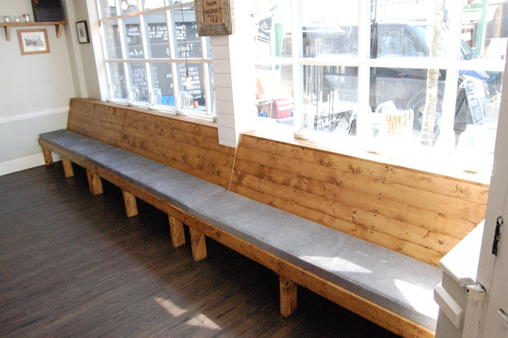 Bench Restaurant Mndw Fitted Bench for Restaurant In Christchurch Oliver Spendley