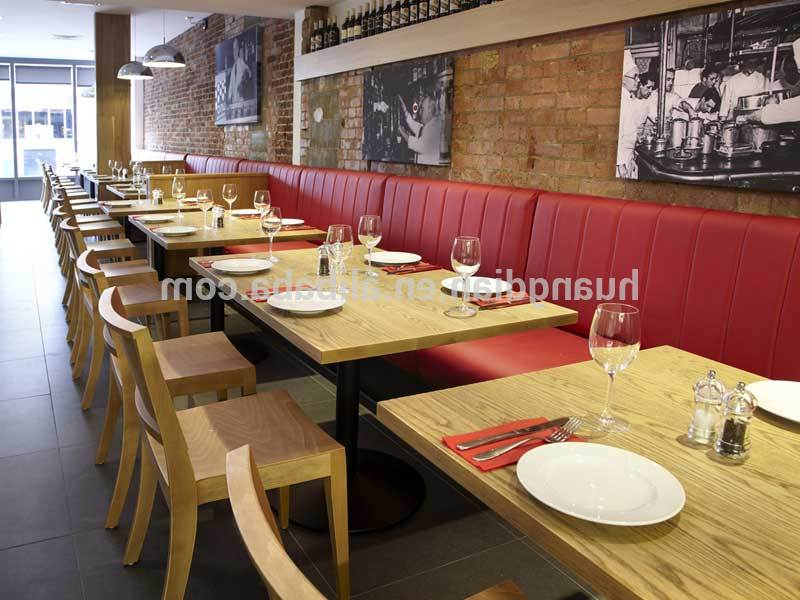Bench Restaurant Thdr Restaurant Bench Booth Seating Different Color Optional Furniture