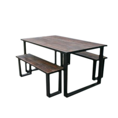 Bench Restaurant Wddj Restaurant Table with Industrial Bench Furniture Rs Set Id