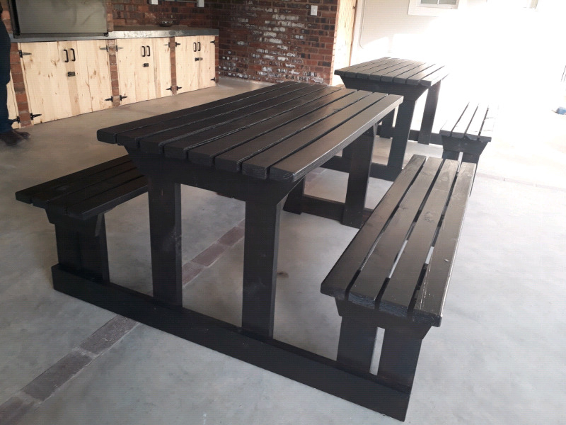 Bench Restaurant Xtd6 Wooden Restaurant Benches Pinetown Gumtree Classifieds south