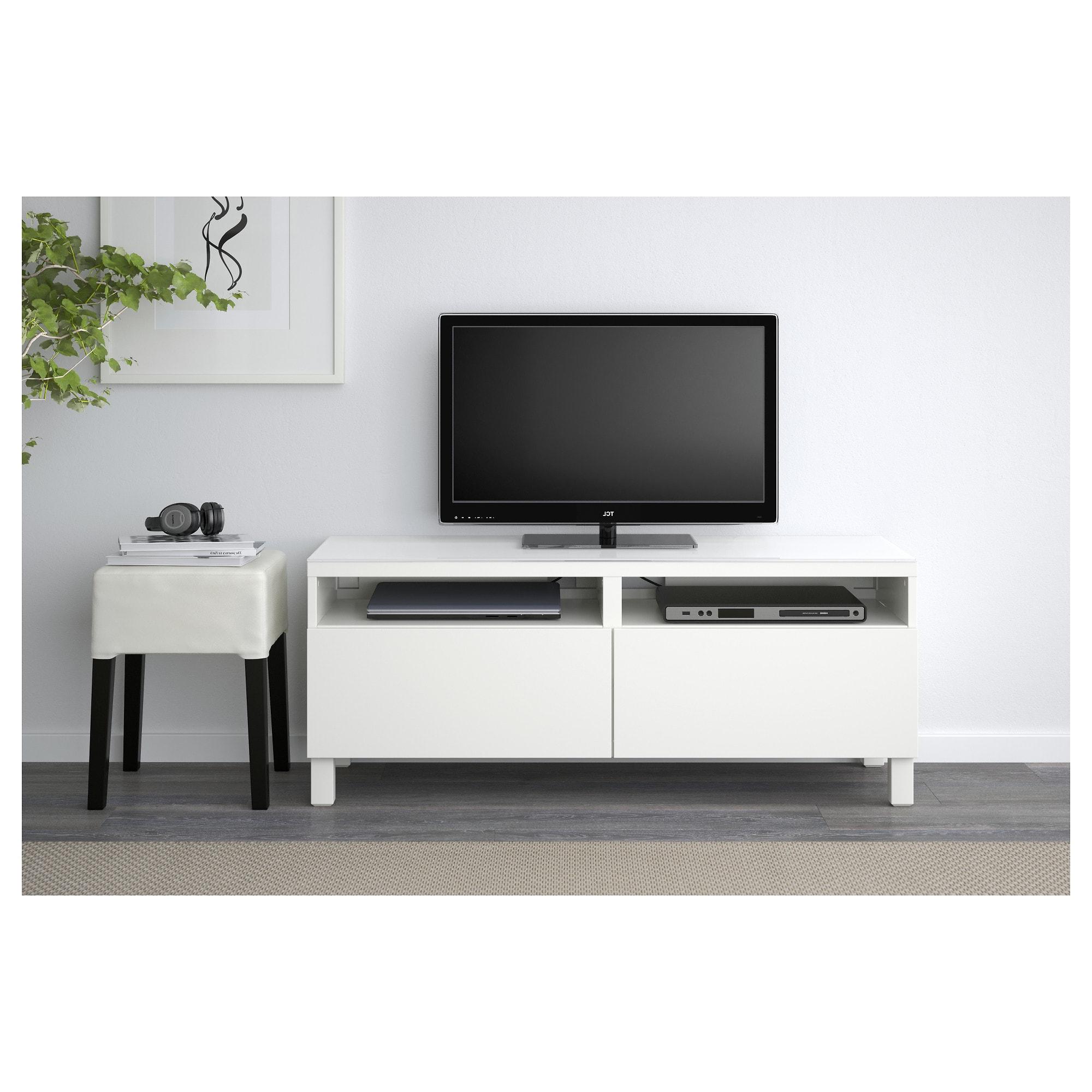 Besta Mueble Tv S1du Bestà Mueble Tv Con Almacenaje Lappviken Blanco 120 X 40 X 48 Cm Ikea
