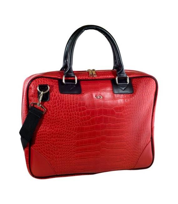 Bolsa Portatil Kvdd Bolsa Portatil 16 Evitta Business Advance Piel Laptop Rojo Evlb