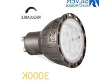Bombilla Led Regulable Tldn Illa Led Regulable Gu10 7w 3000k Silver Electronics Precio