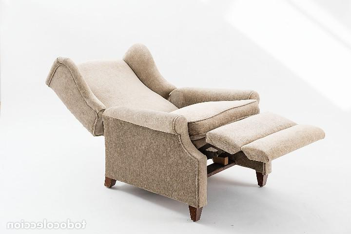 Butaca Reclinable 8ydm butaca Reclinable Biege Prar Muebles Vintage En todocoleccion